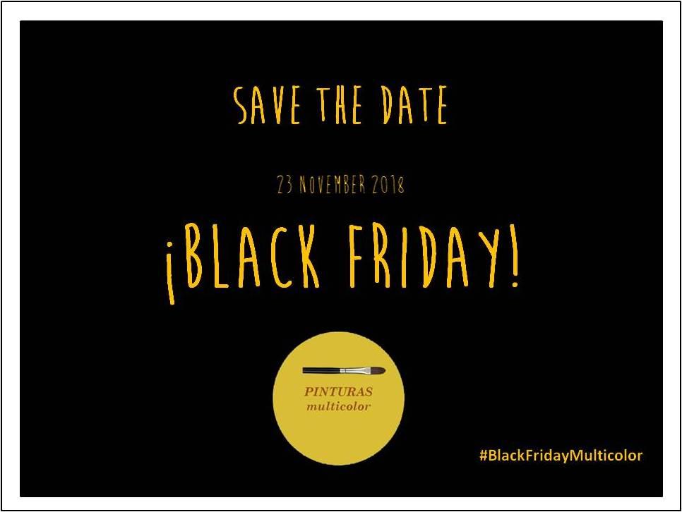 BLACK FRIDAY #FridayMulticolor